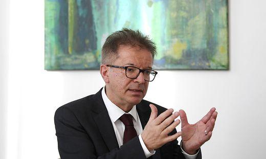 Sozial- und Gesundheitsminister Anschober (Grüne)