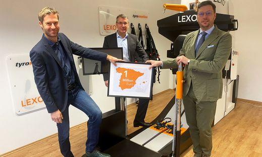 Chefetage: Alexander Kollreider, Thomas Löwen, Wolfram Veitl