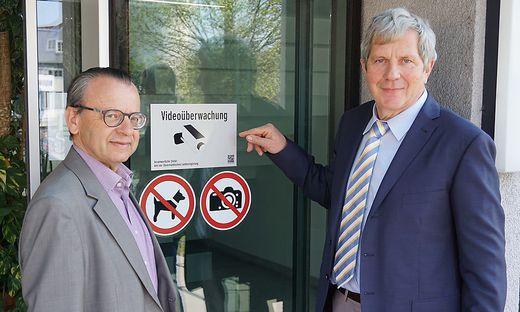 Neue Sicherheitsmasznahmen in der Bezirkshauptmannschaft Hartberg-Fuerstenfeld