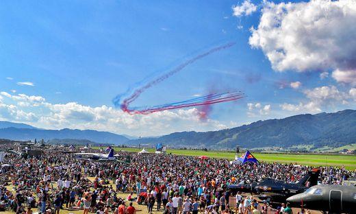 Die Flugshow Airpower wird rund 300.000 Gäste locken