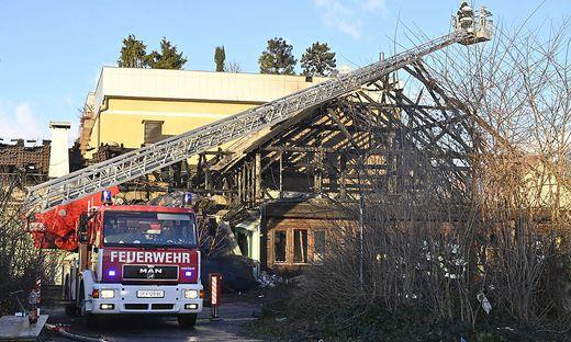 In der Nacht zum 5. Jänner brannte das Gösserbräu ab. Ausgeforscht wurde mittlerweile ein 19-Jähriger, der den Brand gelegt hatte