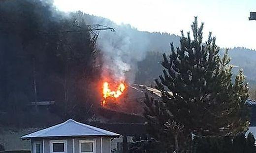 Ein Übergreifen der Flammen konnte verhindert werden