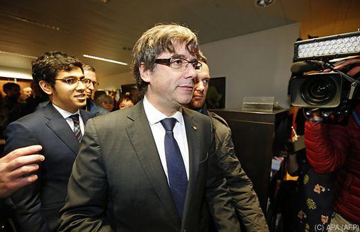 Haftbefehl gegen Puigdemont ist ausgestellt