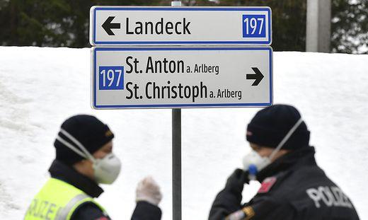Gerhard und seine Freunde waren in St. Anton am Arlberg Skifahren. Dort dürfte er sich mit dem Coronavirus angesteckt haben.