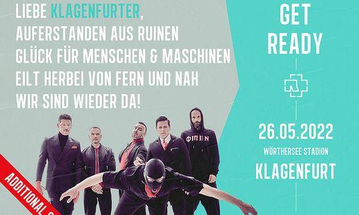 Rammstein spielen zwei Mal in Klagenfurt
