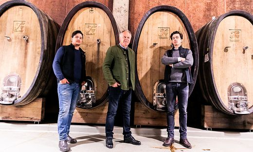 Stefan, Manfred und Armin Tement