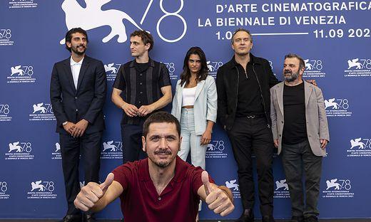 Gabriele Mainetti, Claudio Santamaria, Aurora Giovinazzo, Pietro Castellitto, Giancarlo Martini, Franz Rogowski