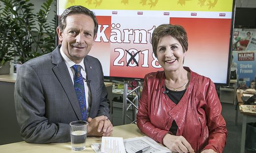 Christian Benger und Antonia Gössinger