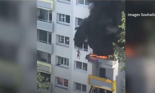 Frankreich: Kinder retten sich mit Sprung aus Fenster vor Flammen