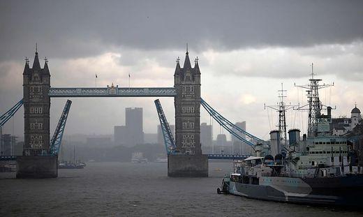 Die Tower Bridge ließ sich nicht mehr schließen