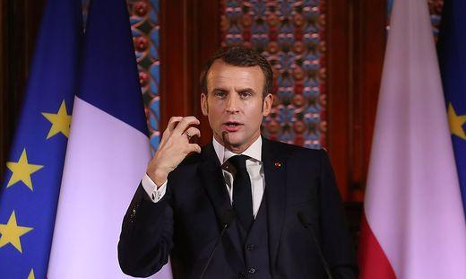 Macron will über atomare Abschreckung sprechen