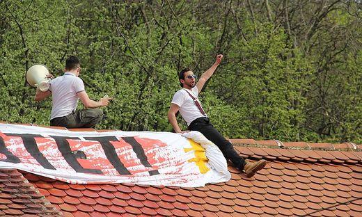 Luca Kerbl musste den Hut als FP-Obmann von Graz Lend nehmen.