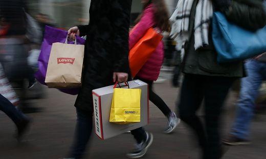 Der Einkaufsrummel hat voll eingesetzt