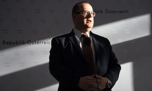 Staatssekretär Hubert Fuchs