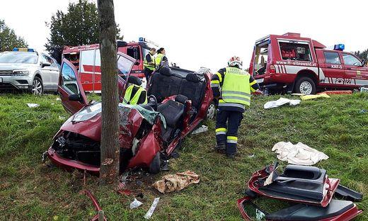 Schwerer Unfall in Eibiswald