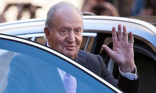 Juan Carlos nimmt Abschied