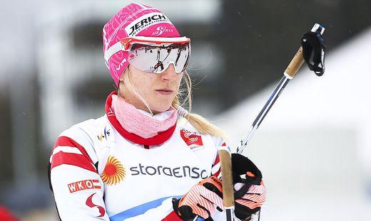 Die einzige Weltcup-Athletin: Teresa Stadlober