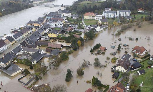 2012 wurde Lavamünd vom Hochwasser erfasst