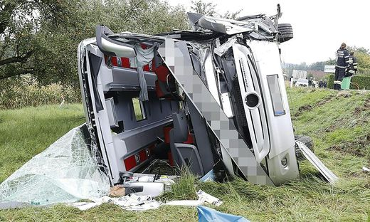 28 Menschen wurden bei dem Busunfall verletzt