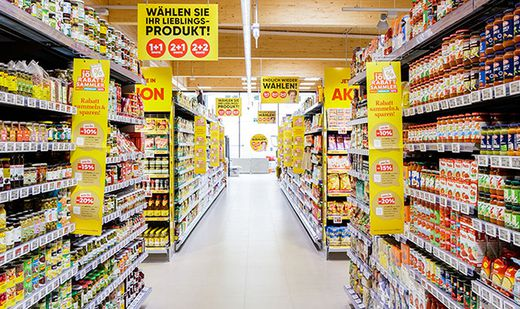 Bei Billa & Co. steigt die Nachfrage