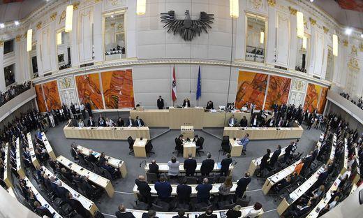 Viel zu tun hat dieser Tage der Nationalrat: Seit Ende der Regierung sind Dutzende Gesetzesanträge eingelangt.