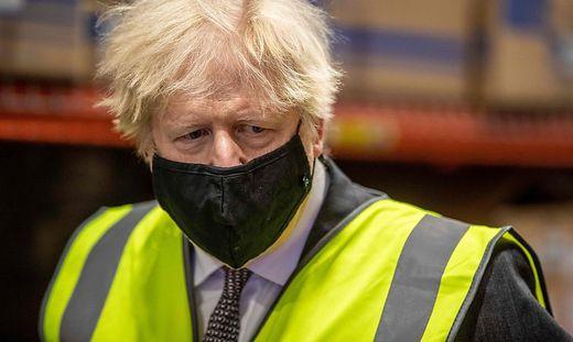 Der britische Premierminister Boris Johnson
