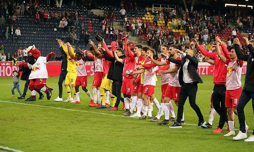 FUSSBALL TIPICO BUNDESLIGA / MEISTERRUNDE: RED BULL SALZBURG - RZ PELLETS WAC