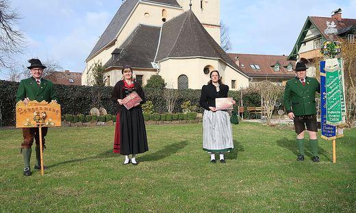 Die Mitglieder vom Trachtenverein D'Walberger Langenwang freuen sich auf ihr Jubiläum