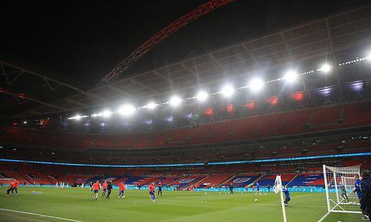 Das Wembley in London könnte mehr Spiele als gedacht austragen