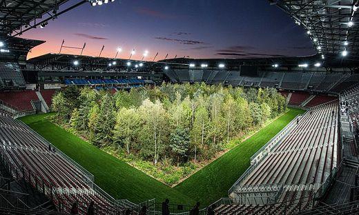 Das Bild des Stadionwaldes war beeindruckend. Heute erinnert in Klagenfurt kaum mehr etwas an das Projekt