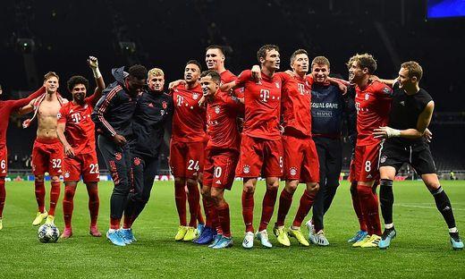 Der FC Bayern jubelte in London über ein 7:2