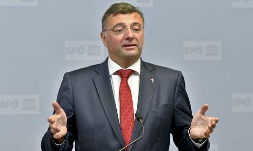 Jörg Leichtfried ist steirischer Spitzenkandidat und