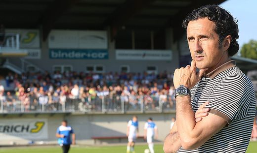 Gleisdorf-Trainer Andreas Moriggl