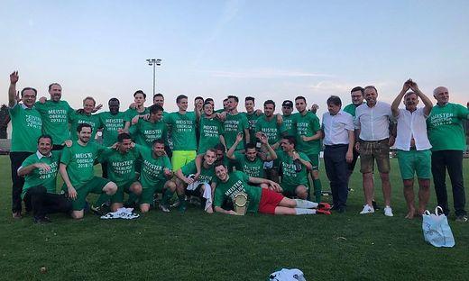 Die Gamlitzer Meistermannschaft der vergangenen Saison