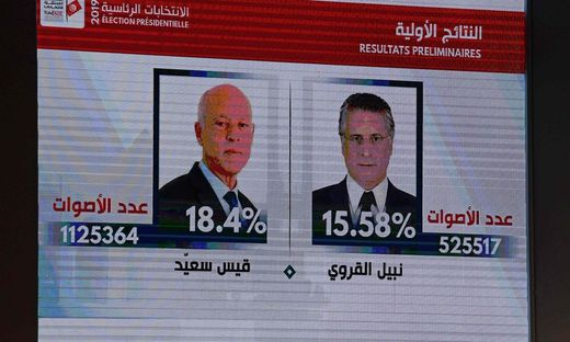 Präsidentenwahl in Tunesien: Jusprofessor und Medienmogul in der Stichwahl