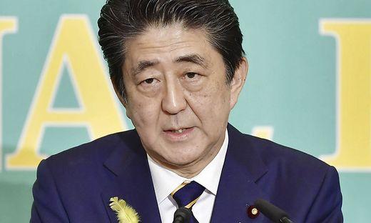 Regierungskoalition von Premier Shinzo Abe erwartet Mehrheit