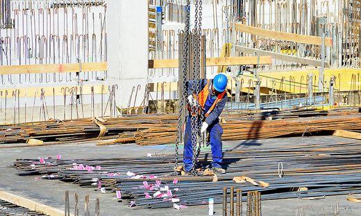 Bauarbeiter Sujet