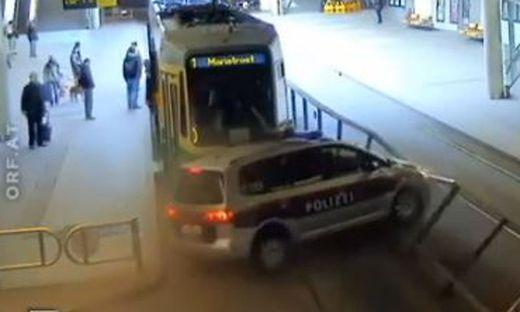 Auch polizeiintern hat der Crash mit der Grazer Tram für Gesprächsstoff und Aufregung gesorgt
