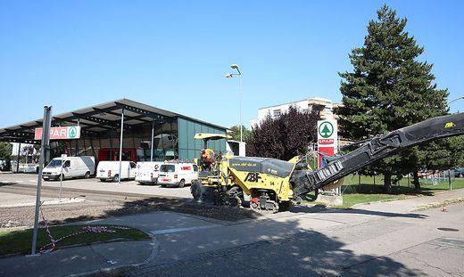 Baustellen Klagenfurt