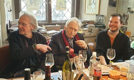 Geburtstagsrund: Peter Handke, Alfred Kolleritsch, Andreas Unterweger