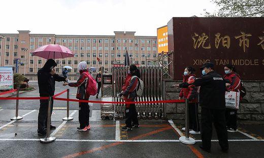 In Shenyang gab es erneut drei Fälle