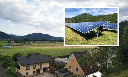 Im Ortsteil Preßnitz (St. Stefan ob Leoben) stößt eine geplante Fotovoltaik-Freiflächenanlage auf Widerstand