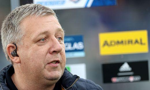 Hartberg-Sportdirektor Erich Korherr