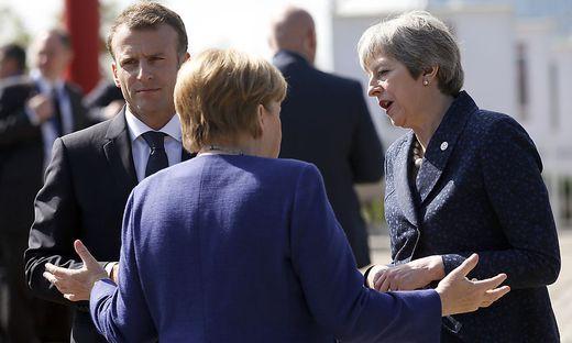 Brexit - May sucht Unterstützer für Fristverlängerung