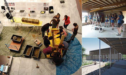 Von der Konzeptionierung bis zu Umsetzung: Die Studierenden legen beim Schulbau in Südafrika mit ihren Lehrenden Hand an