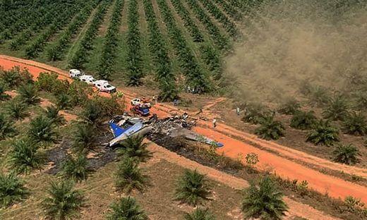 Zwölf Tote bei Flugzeugabsturz in Kolumbien
