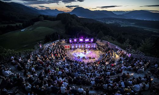 Die Burgarena Finkenstein gehört zu den schönsten Veranstaltungsorten in Kärnten