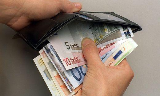 Euro-Geldboerse