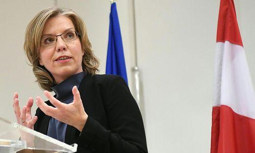 Die neue designierte Umweltministerin Leonore Gewessler.