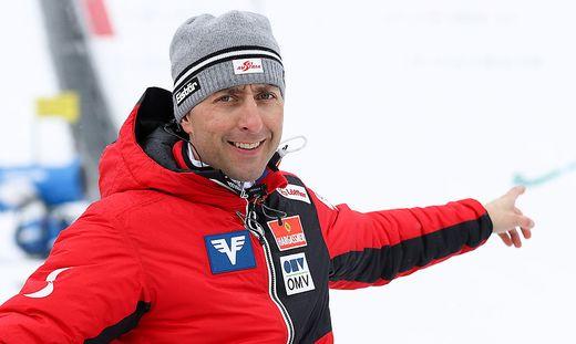 ÖSV-Sportdirektor Mario Stecher